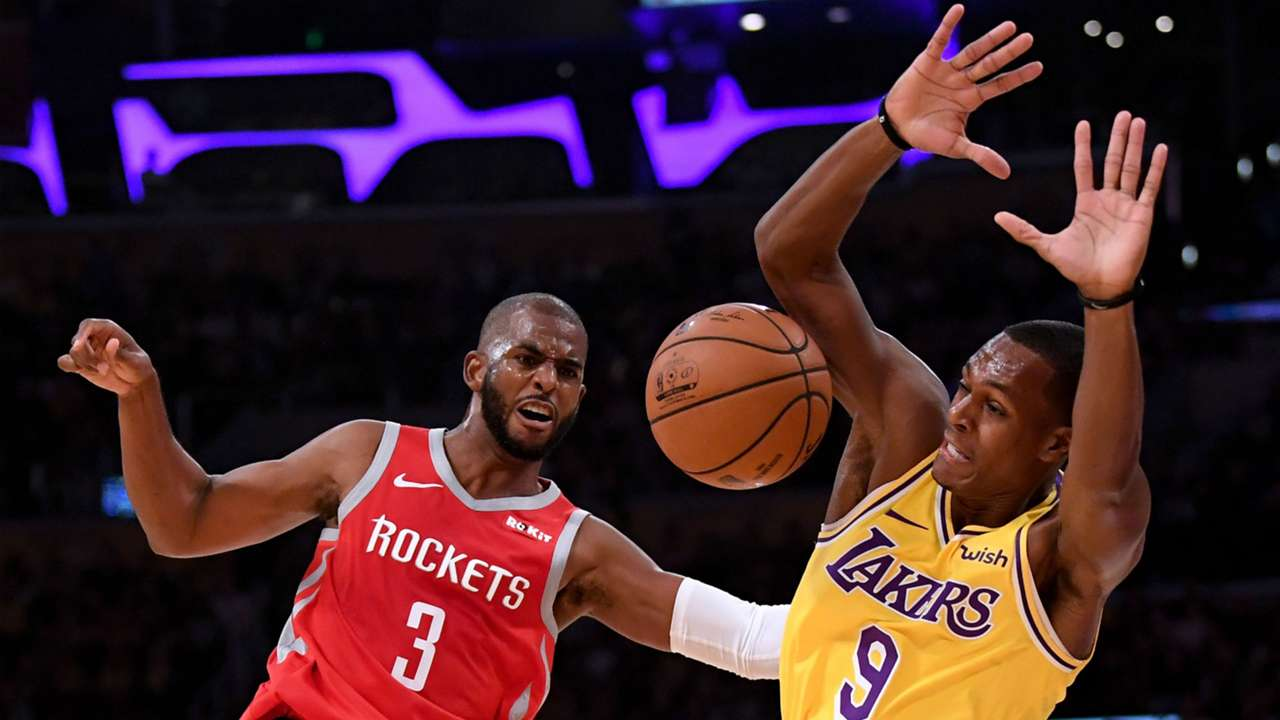 Chris Paul Rajon Rondo Rockets v Lakers 20102018