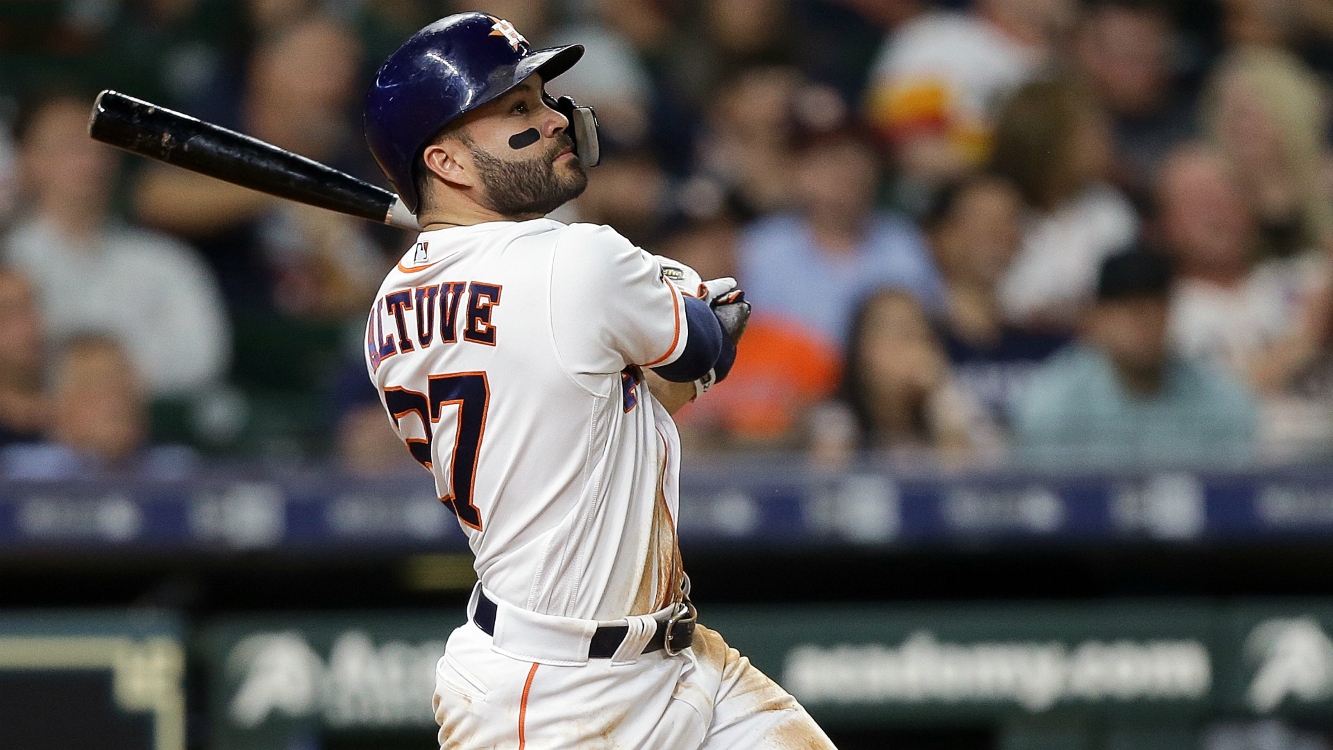 Altuve Astros >> Astros Jose Altuve Calls 30 Homer Season Like A Dream Come