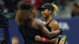 Serena Williams and Naomi Osaka US Open 09082018