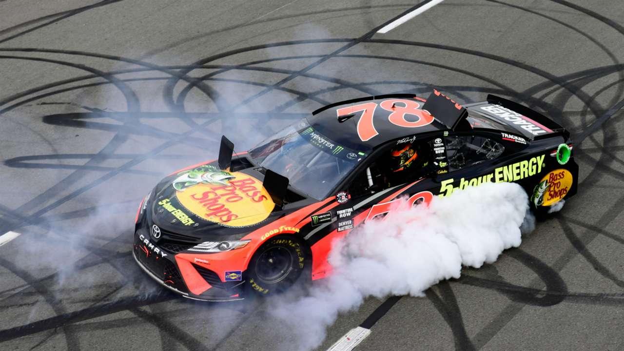 Martin Truex Jr Toyota Monster Energy NASCAR Cup Series Pocono 400 03062018