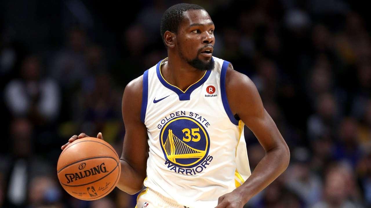 Kevin Durant Golden State vs Denver Nuggets NBA 04112017