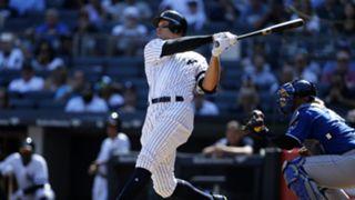 Aaron Judge Kansas City Royals v New York Yankees MLB regular season 25092017