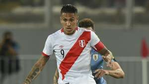 Paolo Guerrero Peru v Uruguay WC qualifying south america 28032017