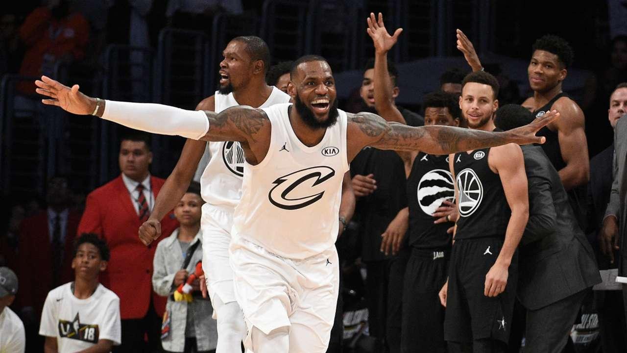 LeBron James All Stars Game Juego de las Estrellas 18022018