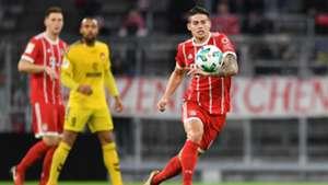 James Rodriguez Bayern Muenchen v SG Sonnenhof Grossaspach Club friendlies 09012018