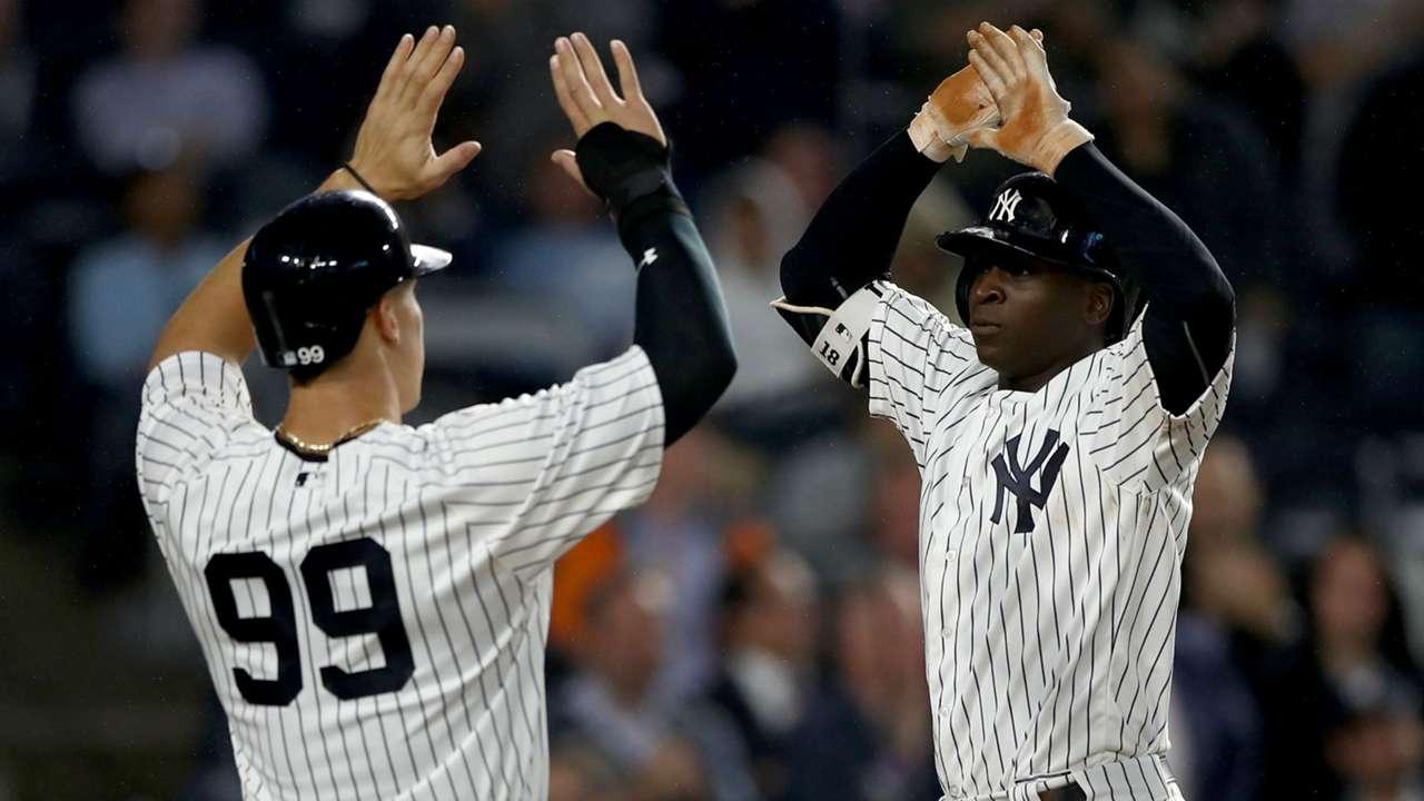 Aaron Judge Yankees de New York vs Royals MLB 22052017