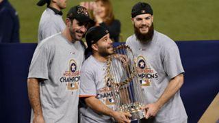 José Altuve Houston Astros MLB Serie Mundial 01112017