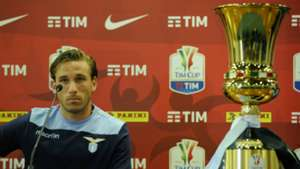 Lucas Biglia SS Lazio Training Session And Press Conference 16052017