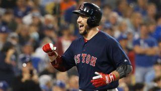 Steven Pearce Red Sox vs Dodgers Serie Mundial 28102018