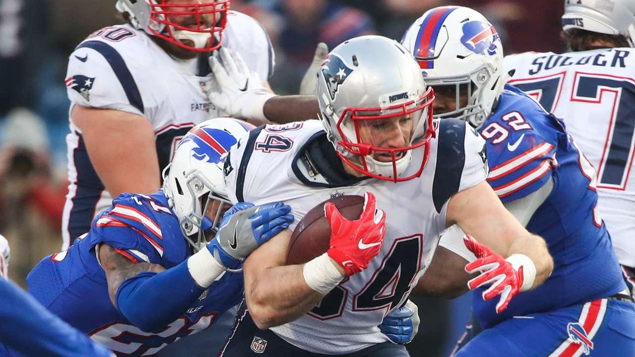 Rex Burkhead Patriots v Bills NFL 03122017