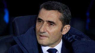 Ernesto Valverde Barcelona v Girona La Liga 24022018