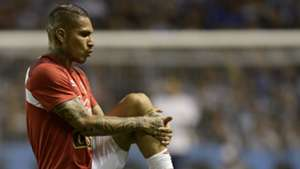 Paolo Guerrero Argentina v Peru WC qualifying south america 05102017