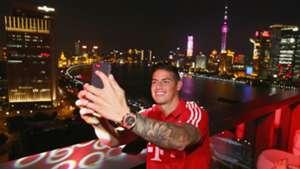 James Rodriguez FC Bayern Muenchen Audi Summer Tour Day 5 20072017