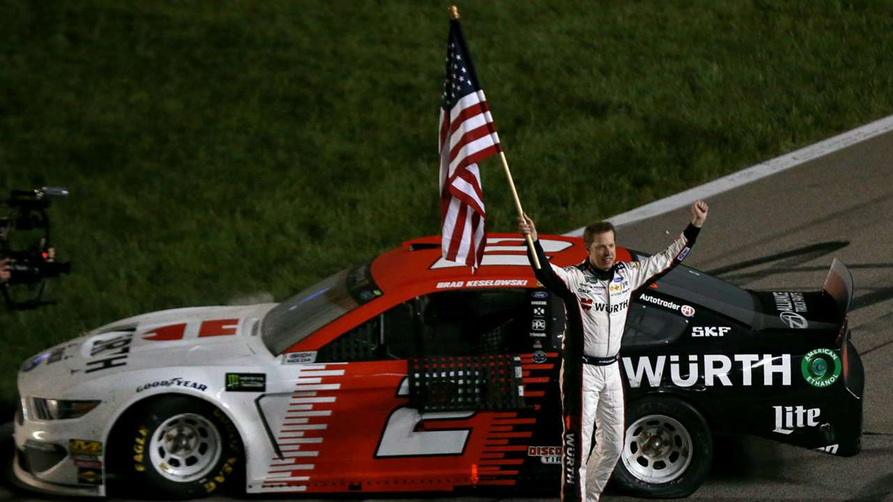 Brad Keselowski Monster Energy NASCAR Cup Series Race Digital Ally 400 11052019