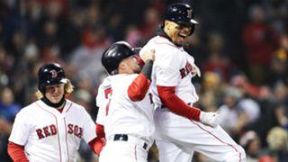 Mookie Betts Red Sox vs New York Yankees MLB 10042018