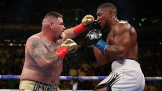 Anthony Joshua v Andy Ruiz Jr IBF WBA WBO heavyweight title fight at Madison Square Garden 01062019