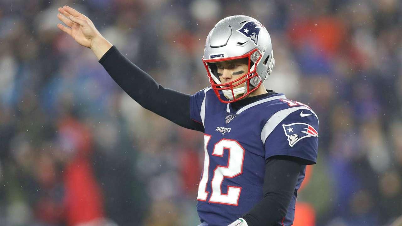 Tom Brady Tennessee Titans v New England Patriots Wild Card Round 01042020