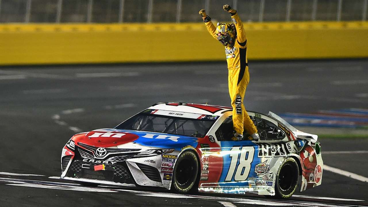 Kyle Busch Toyota Monster Energy NASCAR Cup Series Coca Cola 600 27052018