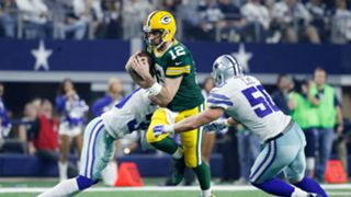 Aaron Rodgers Green Bay Packers v Dallas Cowboys NFL Playoffs 15012017