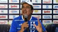 Jorge Luis Pinto press conference in San Pedro Sula 09102017