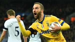 Gonzalo Higuain Juventus Champions League 03072018