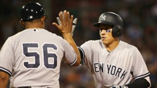 New York Yankees v Boston Red Sox MLB regular season 18082017