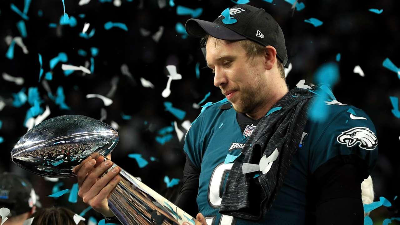 Nick Foles Philadelphia Eagles v New England Patriots Super Bowl LII 04022018