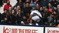 Salomón Rondón West Bromwich Albion vs Leicester Premier League 29042017