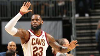 LeBron James Cleveland Cavaliers 29032018