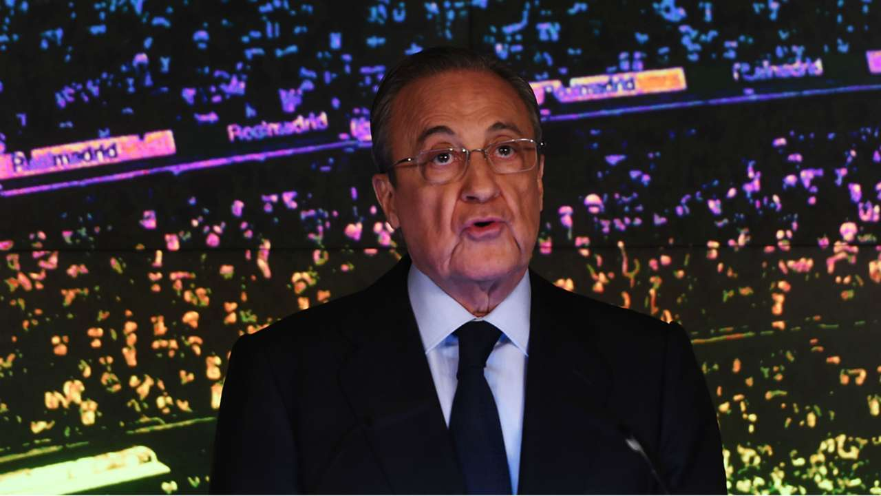 Florentino Perez Real Madrid Unveil New Manager Zinedine Zidane 11032019