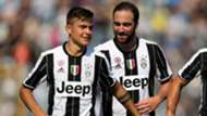Paulo Dybala and Gonzalo Higuain Juventus Serie A 10022016