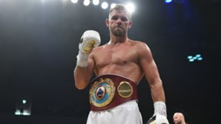 Billy Joe Saunders defeats Willie Munroe Jr for the WBO World Middleweight Title fight at Copper Box Arena in London 16092017