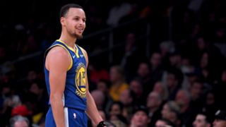 Stephen Curry Golden State Warriors v Los Angeles Lakers NBA regular season 21022019