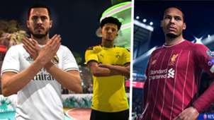 FIFA 20 Eden Hazard Jadon Sancho Virgil van Dijk