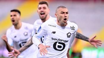 Burak Yılmaz Lille Gol Sevinci 7 Mayıs 2021