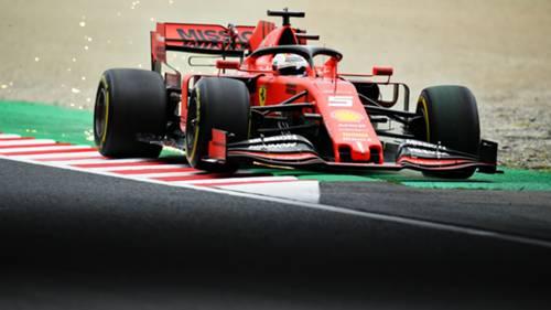 Sebastian Vettel Ferrari Formula 1 2019 Japonya