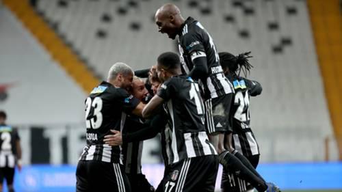 Beşiktaş sevinç Göztepe 25Ocak2021