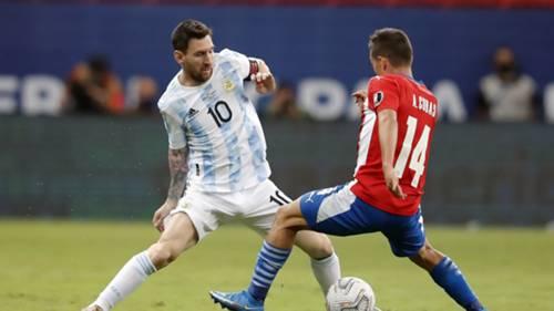Lionel Messi Arjantin Paraguay Copa America 2021