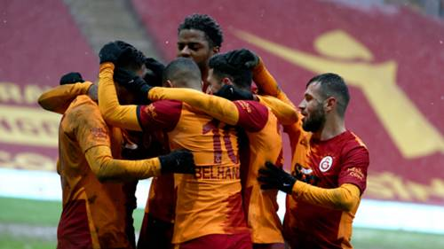Galatasaray gol sevinci 14 Şubat 2021