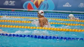 Berke Saka yüzme