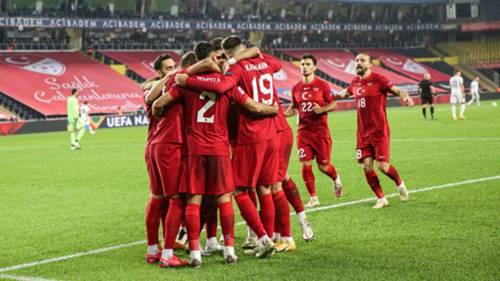 Türkiye gol sevinci A Milli Takım Kasım 2020