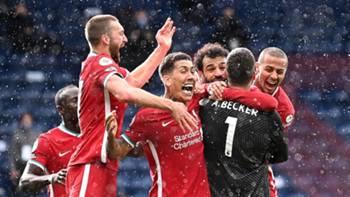 Liverpool Gol Sevinci Alisson 16 Mayıs 2021