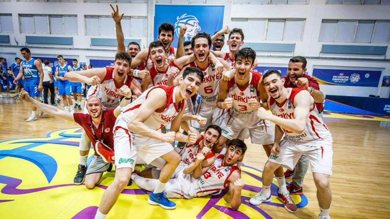 U18 Avrupa Basketbol Şampiyonası Finali: Türkiye - İspanya