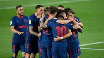 Atletico Madrid gol sevinci 11 Nisan 2021
