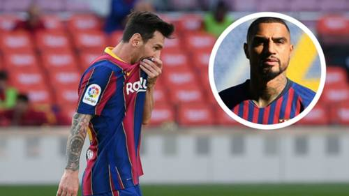 Lionel Messi Kevin Prince Boateng