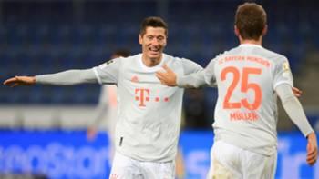 Lewandowski Muller Arminia Bielefeld Bayern Munih 10172020