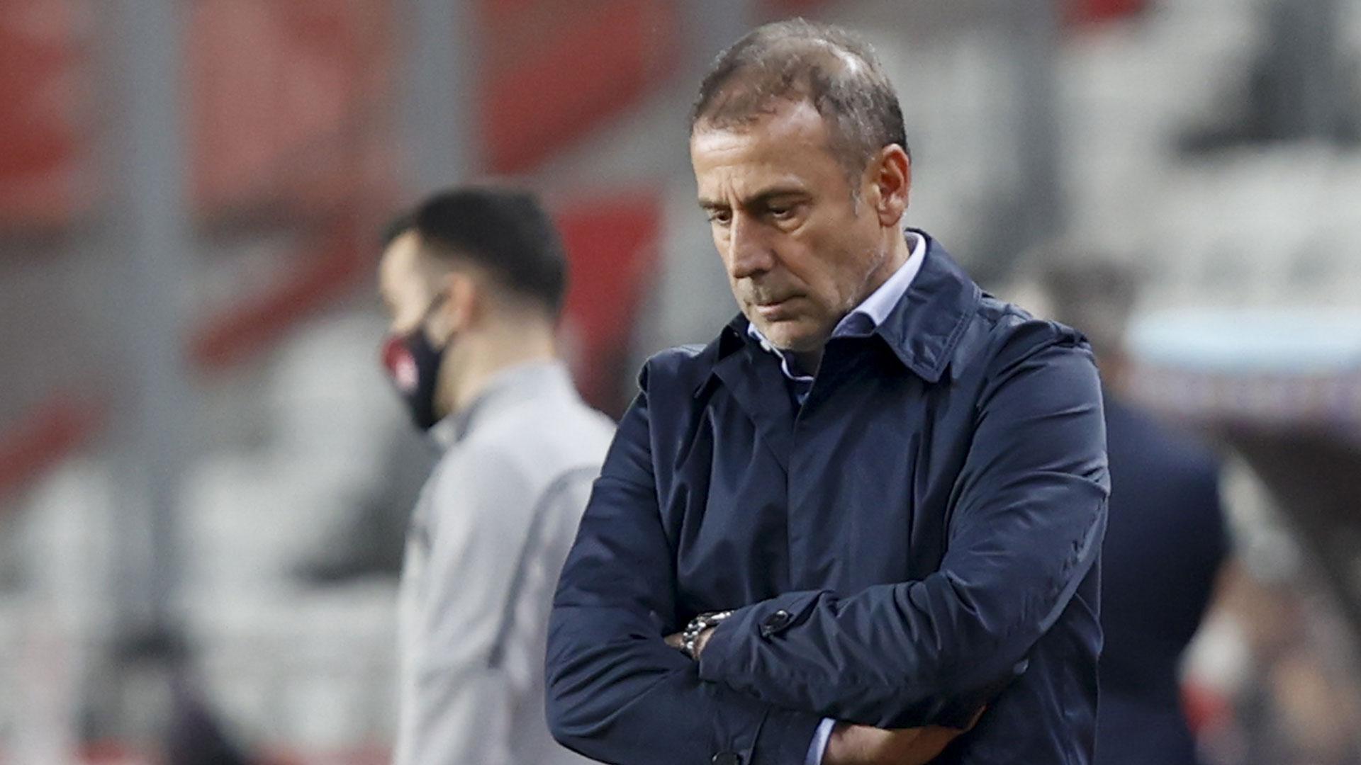 Abdullah Avcı Trabzonspor 16 Ocak 2021