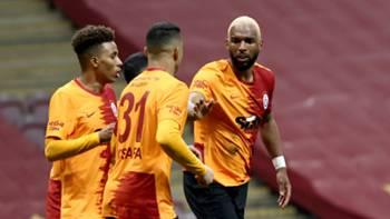 Ryan Babel Galatasaray gol sevinci 10 Nisan 2021