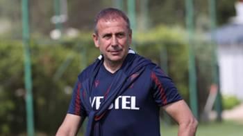 Abdullah Avcı Trabzonspor Antrenman