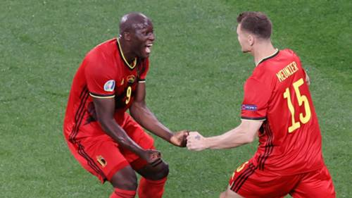 Lukaku Gol Sevinci Belçika - Rusya 12 Haziran 2021
